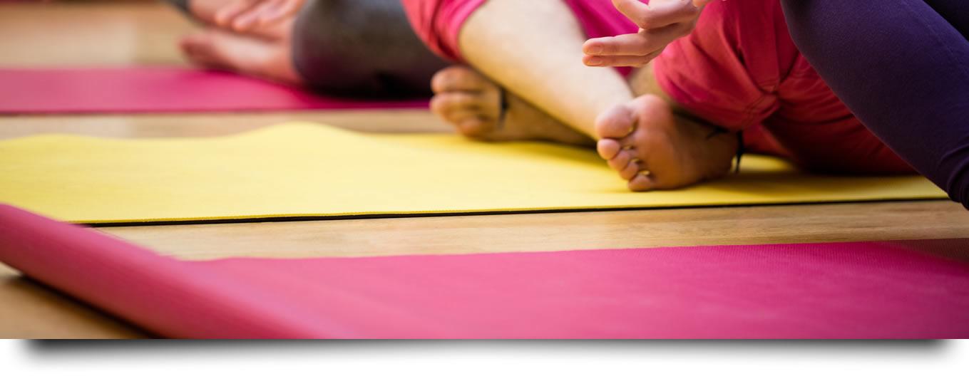 Esteira para yoga