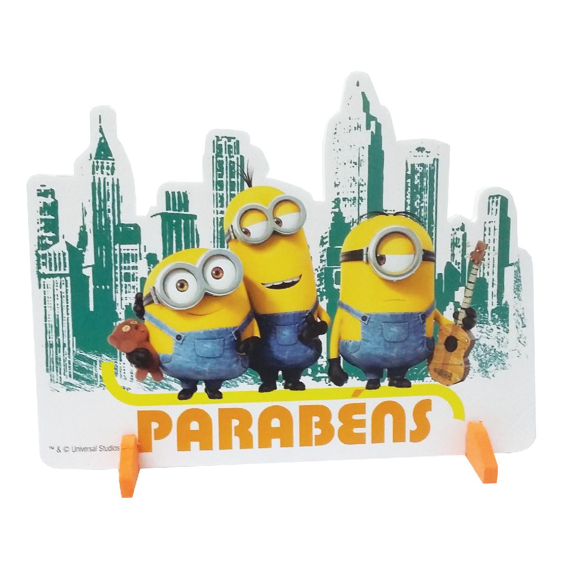 Enfeite de mesa Parabens Minions 1