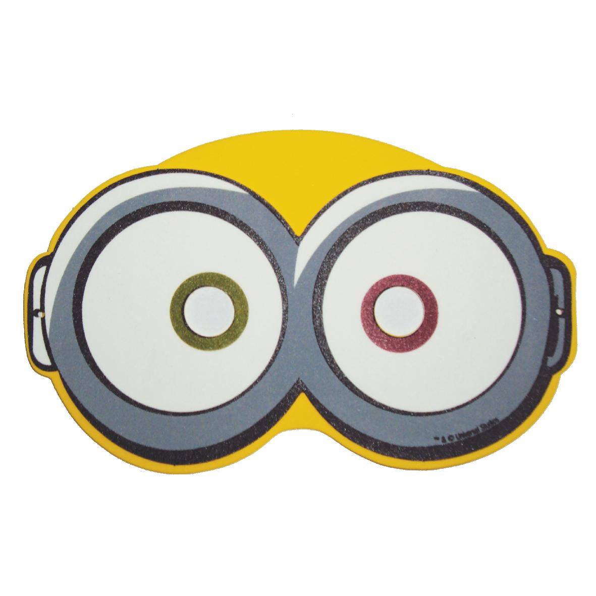 Kit mascara Minions c/3pçs 1