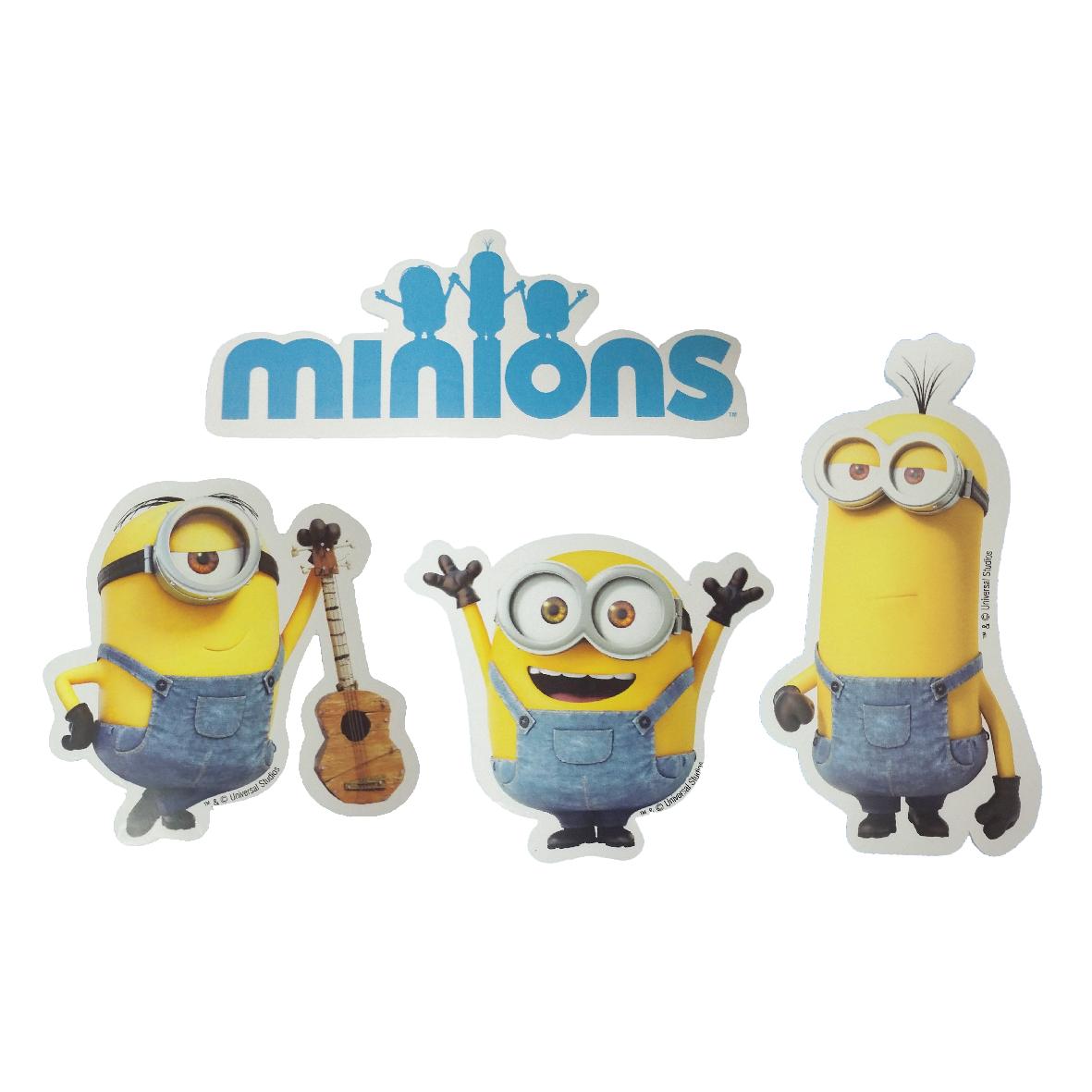 Micro Minions II c/4pçs 1