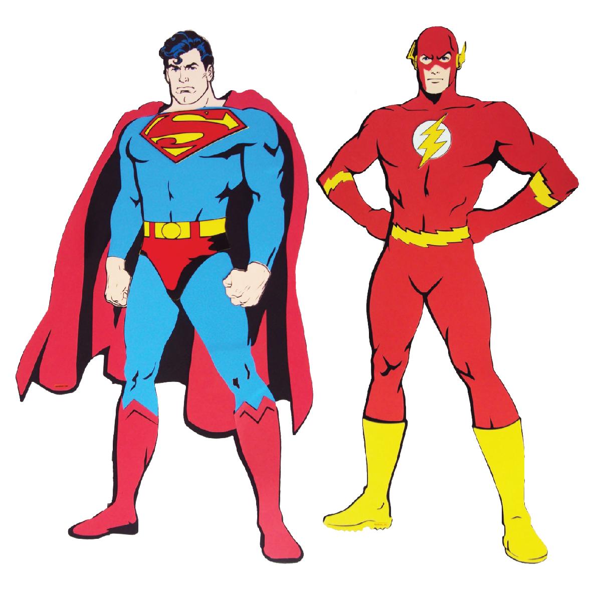Superman e Flash Grande 1