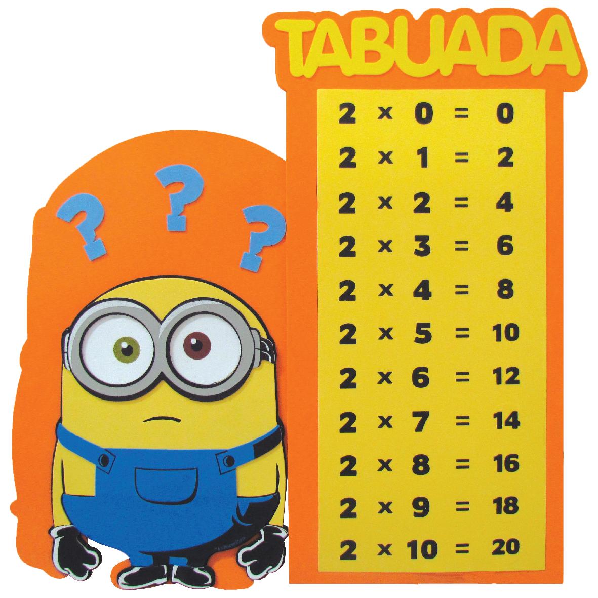 Tabuada Minions 1